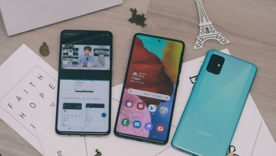 Samsung Galaxy A51 智慧型手機開箱,微距拍出不一樣的世界