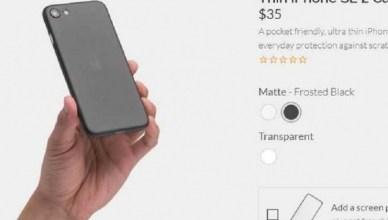 iPhone SE 2還沒發表 配件商先預賣保護殼