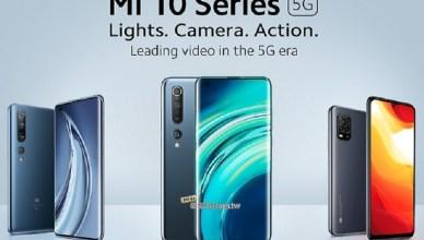小米10系列國際版發表 10 Lite中階5G手機首次亮相