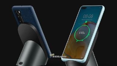 華為P40無線充電用保護殼亮相 P40系列供應商名單疑洩