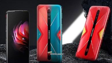 144Hz螢幕、離心風扇 nubia紅魔5G遊戲手機發表