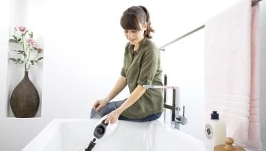 德國凱馳 SC1 手持多功能高壓蒸氣清洗機,抗菌掃除蒸乾淨