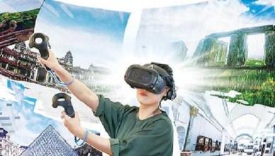 VR旅遊初體驗 宛如哆啦A夢的任意門