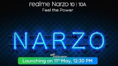 一改再改!realme新系列手機Narzo 10確定5/11發表