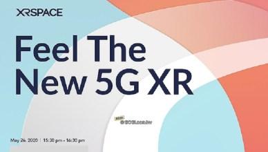 周永明打造5G XR產品!XRSPACE全球發表5/26登場