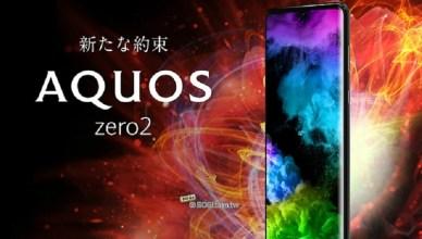 SHARP AQUOS Zero2台灣5/20上市發表