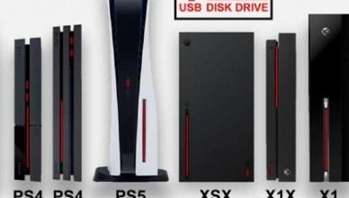 PS5史上最大主機? 網友製比例圖曝光真實大小