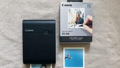 手帳貼紙繁殖術・Canon SELPHY SQUARE QX10 印相機體驗開箱