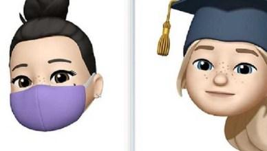 卡哇伊iOS 14貼圖 多了口罩、擊拳、學士帽、珍奶等造型