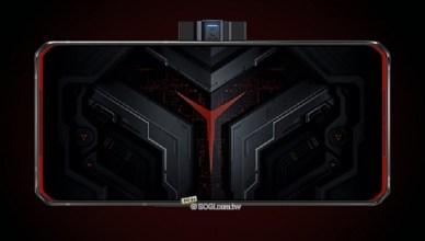 聯想Legion電競手機Pro外型公布!側邊中置升降鏡頭可邊玩邊直播