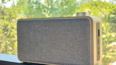 文青風質感布面多功能藍牙喇叭YF-W5A,音樂隨行讓生活盡顯樂趣