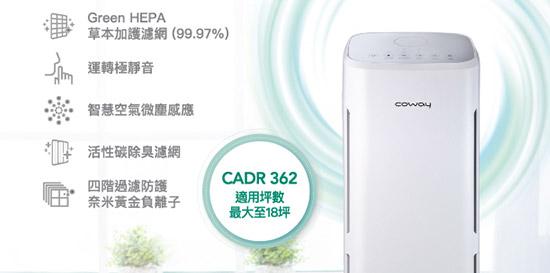 【Coway】綠淨力立式空氣清淨機 AP-1216