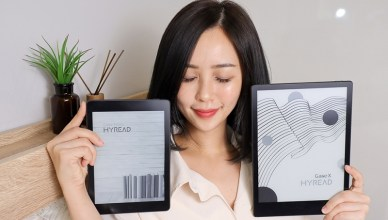 HyRead Gaze 全平面電子紙閱讀器,顛覆你閱讀的習慣與想像