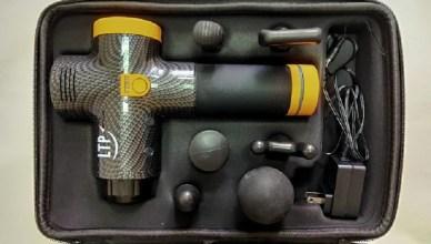 開箱體驗 LTP-A10 肌肉深層筋膜按摩槍,擁有20段速度與六種按摩頭