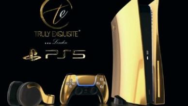限量250台!24K金限量客製化PS5開放預購 一台要價30萬起跳