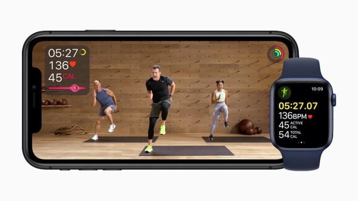 加入 Apple Fitness+ 功能