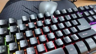Foxxray 電競鍵盤、電競滑鼠、電競滑鼠墊、Foxxray 質感後背包,電競周邊組合包一次擁有