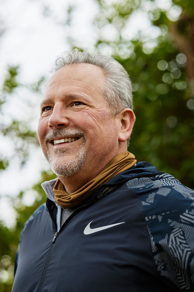 在燒灼手術的幾個月之後,Bob March 又重新開始跑步,而且感覺良好