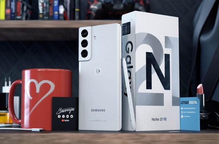 傳三星可能在 2021 推出 Galaxy Note 21 FE