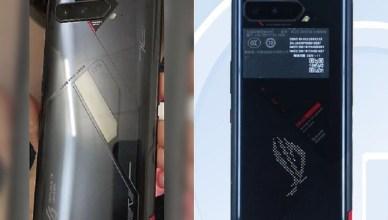 機身設計曝光!華碩ROG Phone 5傳取得中國認證