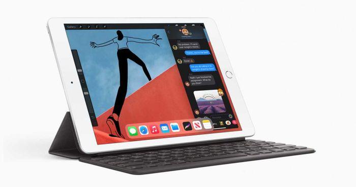 2020年因疫情衝擊,平板電腦在消費性市場表現不佳,預計2021年也將因教育市場趨向筆電,進一步影響銷售表現;圖為Apple第8代iPad。(圖/Apple)