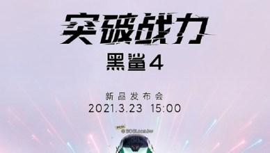 黑鯊4遊戲手機3月底發表!預熱影片曝光機身設計