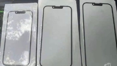 iPhone 13系列螢幕玻璃照疑洩?螢幕缺口縮小且聽筒移位