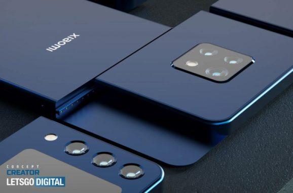 可更換相機鏡頭的小米模組式智慧型手機
