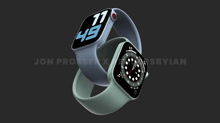 Apple Watch Series 7 將採用更薄的螢幕邊框、超寬頻無線技術及更快的處理器