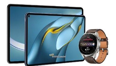 華為MatePad Pro與Watch 3發表 P50外型亮相