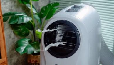 移動式冷暖氣機開箱 SANSUI山水冷暖型清淨除濕移動式空調SWA-9900 冷氣、暖氣、除濕、乾衣一機搞定