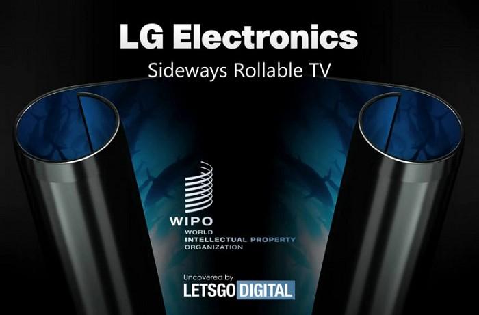 LG將推出橫向捲動收納的OLED電視?