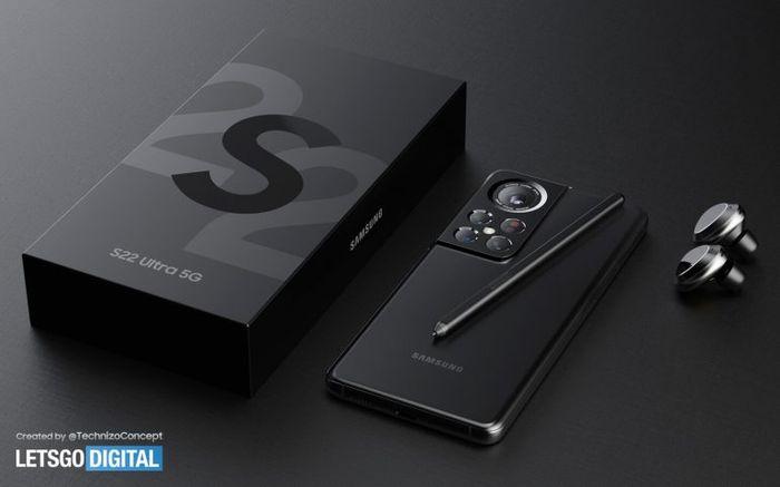 帶有S Pen手寫筆的Samsung Galaxy S22 Ultra