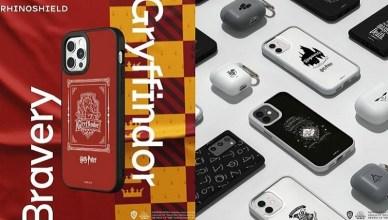 RhinoShield犀牛盾攜手哈利波特推出手機殼、Airpods保護套,讓手機變身霍格華茲學院風