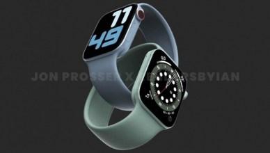 Apple Watch S7出現大錶面規格 樣品曝光「邊框變直角」