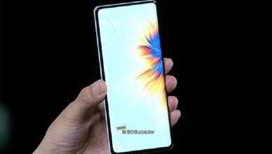 導入螢幕下鏡頭、首發高通S888+ 小米MIX 4全螢幕手機發表
