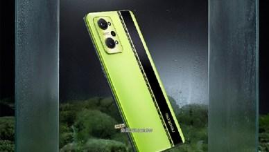潮流黑薄荷配色 realme GT Neo2手機9/22中國發表