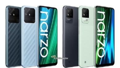 realme大電量手機 narzo 50A與narzo 50i印度10月開賣