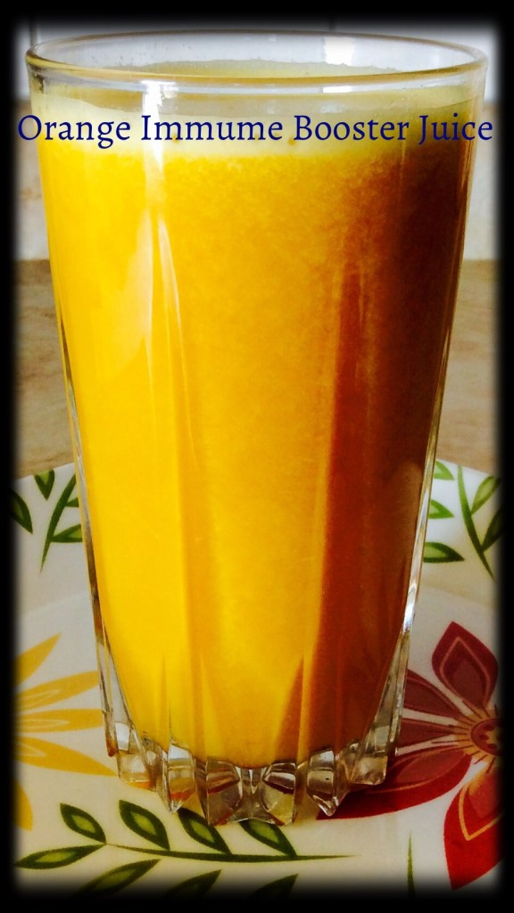Orange Immune Booster Juice