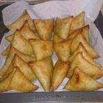 Tortilla Vegetable Samosas