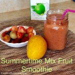 Summertime Mix Fruit Smoothie