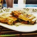 Double Cheese Toasted Coriander Chutney Sandwich