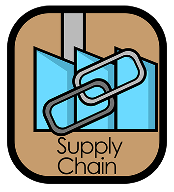 My Food Safety.net icon representing Supply Chain