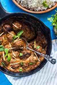 Easy One Pot Mutton (Lamb) Kofta Curry