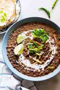 Easy Slow Cooker Dal Makhani