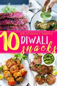 10 Diwali Snack Recipes that will light up your Diwali Party