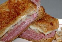Pastrami Sandwich.