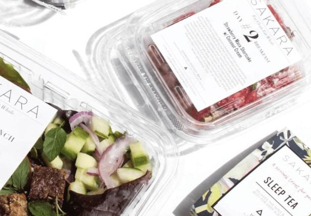 sakara meal kit options