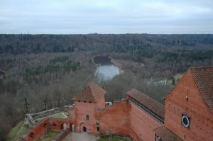 Турайдский замок ливонских рыцарей
