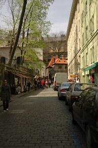 Дорога к Еврейскому кладбищу